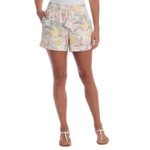Briggs Women's Linen Shorts w/ Drawstring